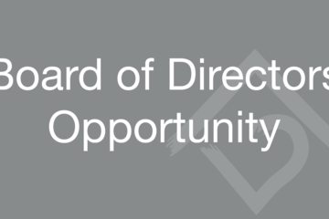Recruiting for Our Board of Directors