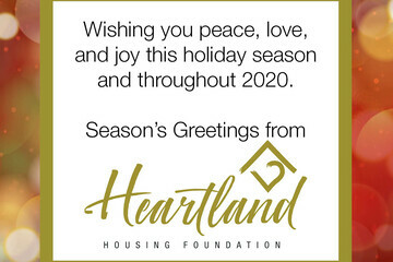 Season's Greetings from Heartland Housing Foundation
