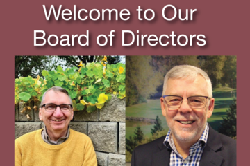 Welcome to Our New Board of Directors Members